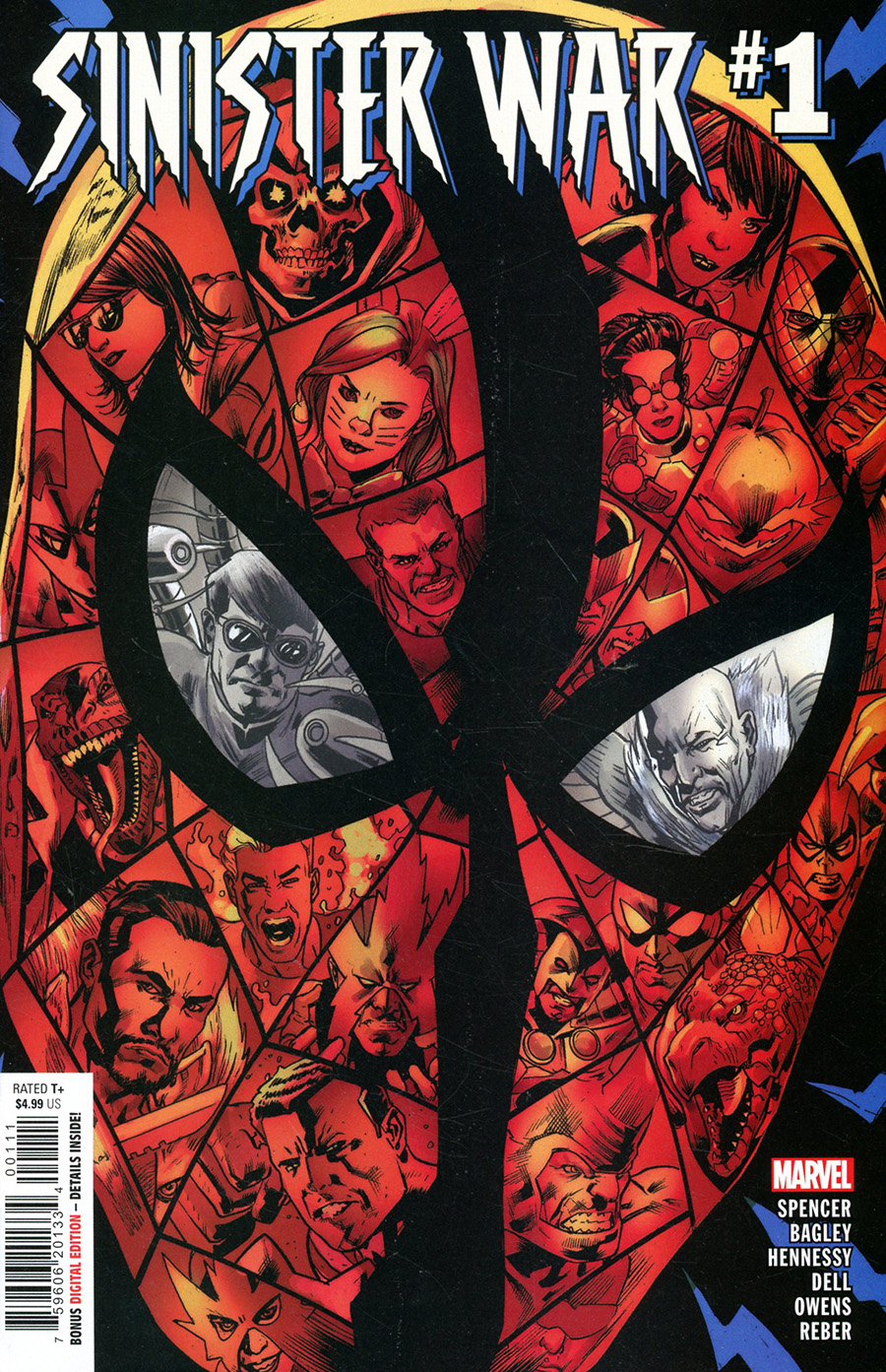 Sinister War #1 Cover A Regular Bryan Hitch Cover