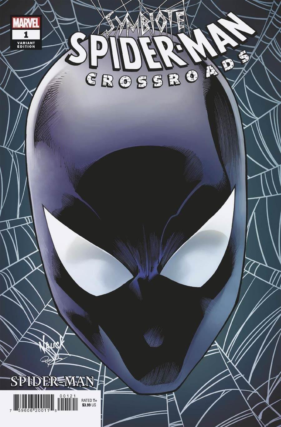 Symbiote Spider-Man Crossroads #1 Cover B Variant Todd Nauck Headshot Cover