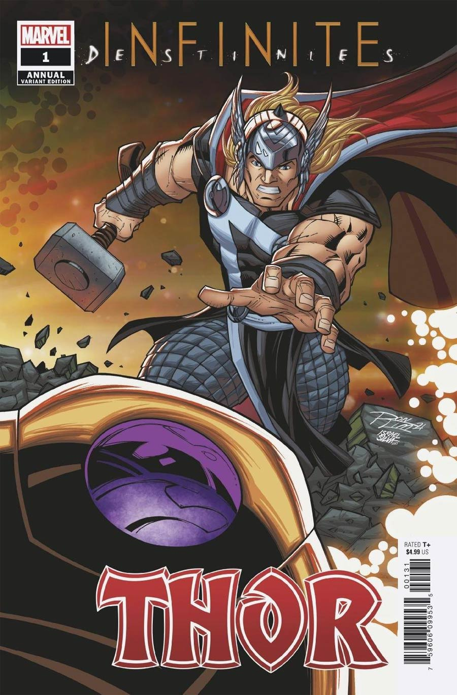Thor Vol 6 Annual #1 Cover B Variant Ron Lim Connecting Cover (Infinite Destinies Tie-In)