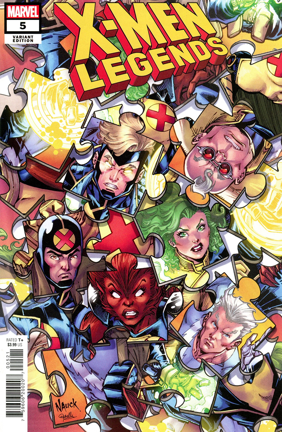 X-Men Legends #5 Cover B Variant Todd Nauck Puzzle Cover
