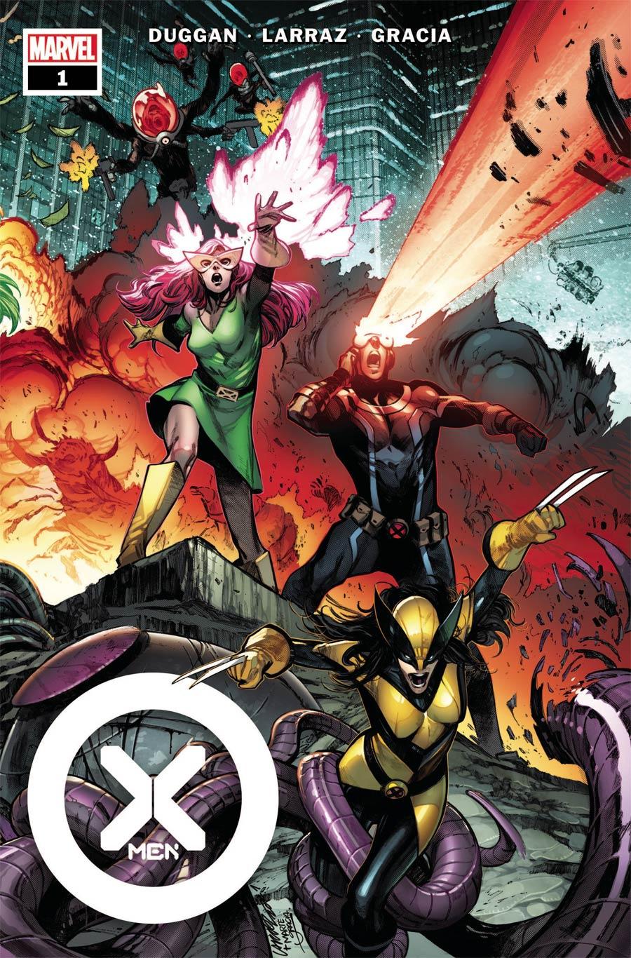 X-Men Vol 6 #1 Cover A Regular Pepe Larraz Cover