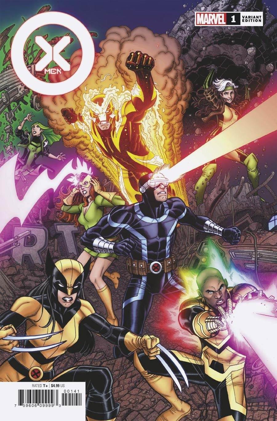 X-Men Vol 6 #1 Cover D Variant Nick Bradshaw Cover