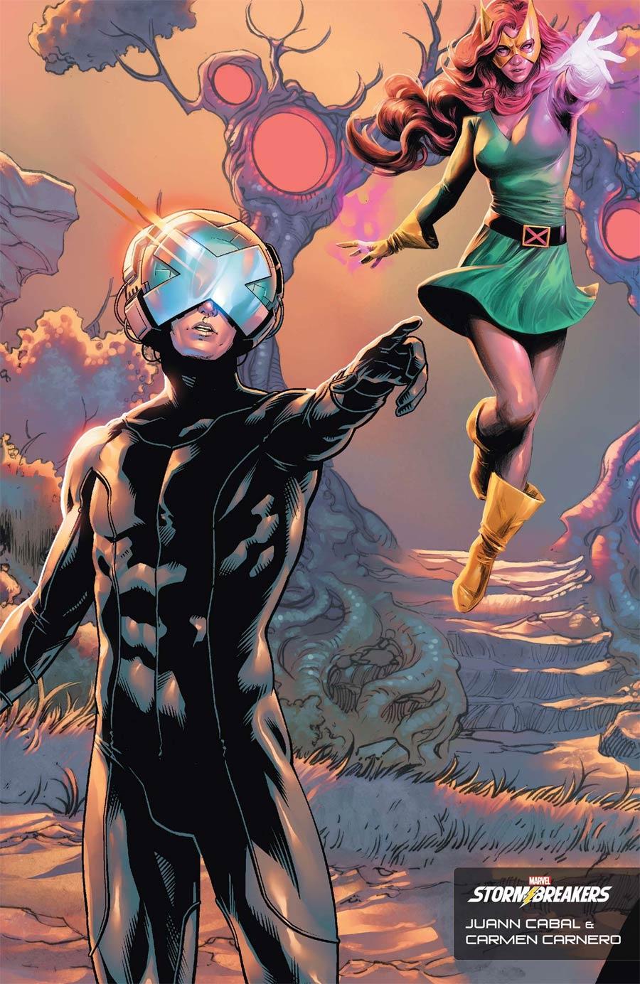 X-Men Vol 6 #1 Cover F Variant Juann Cabal & Carmen Carnero Stormbreakers Cover