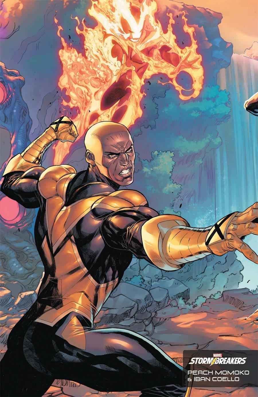 X-Men Vol 6 #1 Cover G Variant Peach Momoko & Iban Coello Stormbreakers Cover
