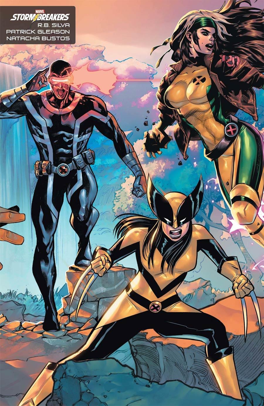 X-Men Vol 6 #1 Cover H Variant RB Silva Natacha Bustos Patrick Gleason Stormbreakers Cover