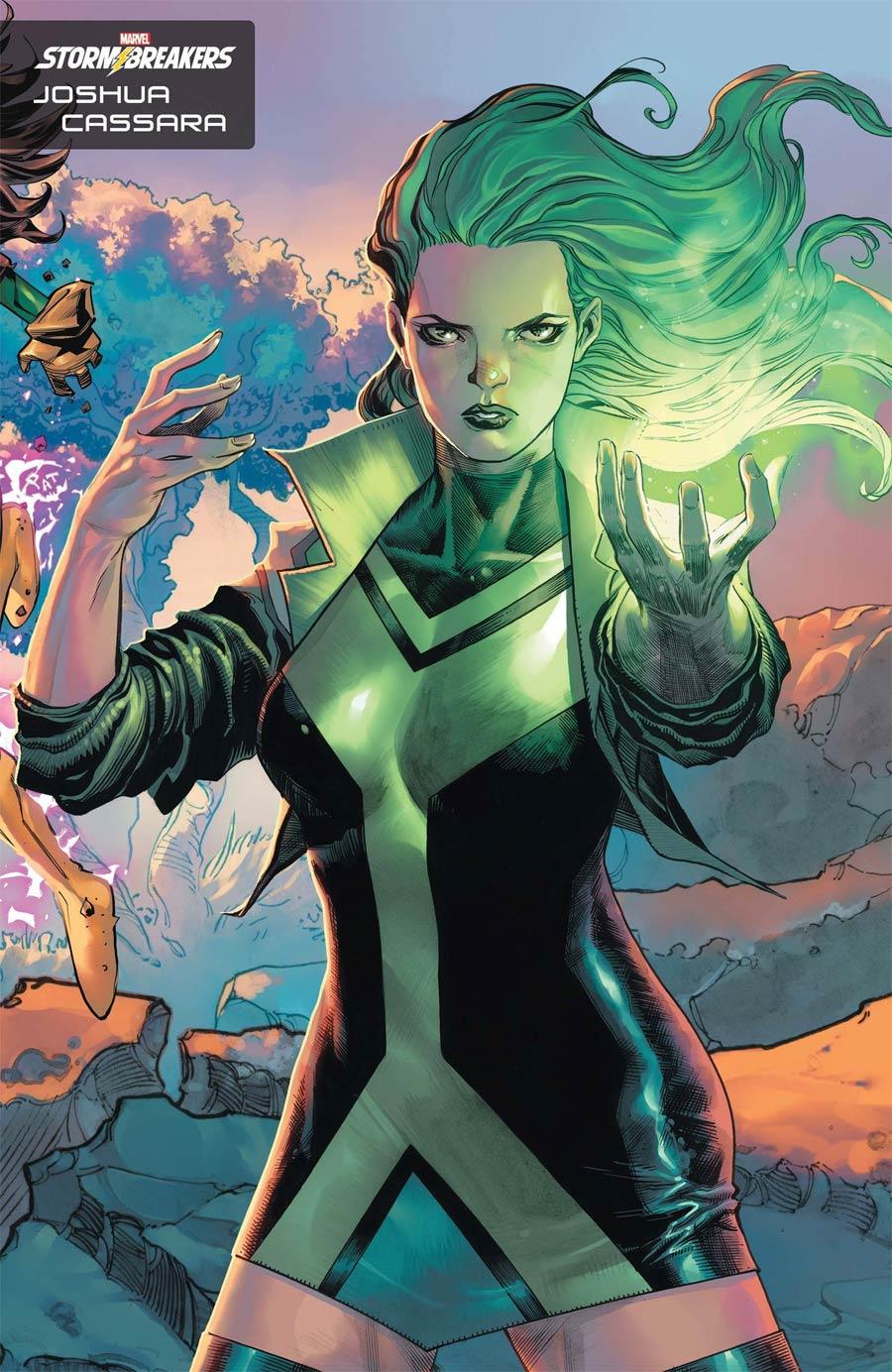 X-Men Vol 6 #1 Cover I Variant Joshua Cassara Stormbreakers Cover