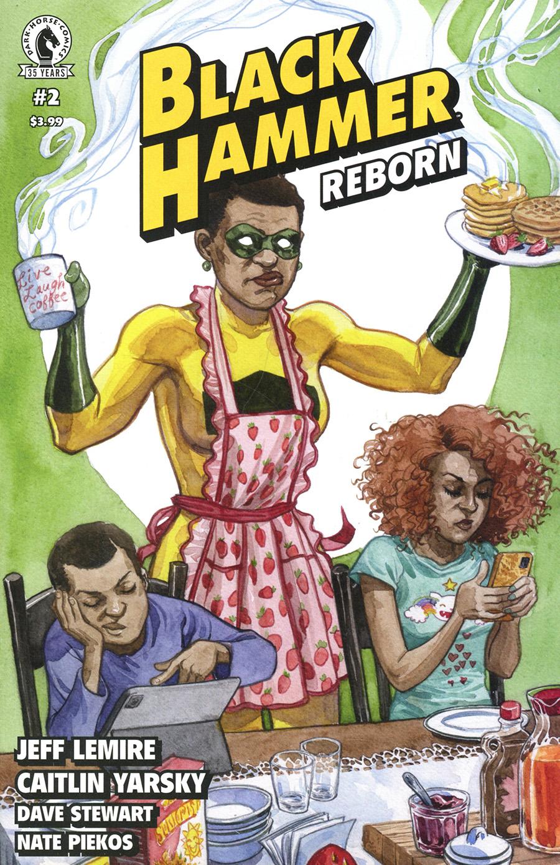 Black Hammer Reborn #2 Cover B Variant Jill Thompson Cover