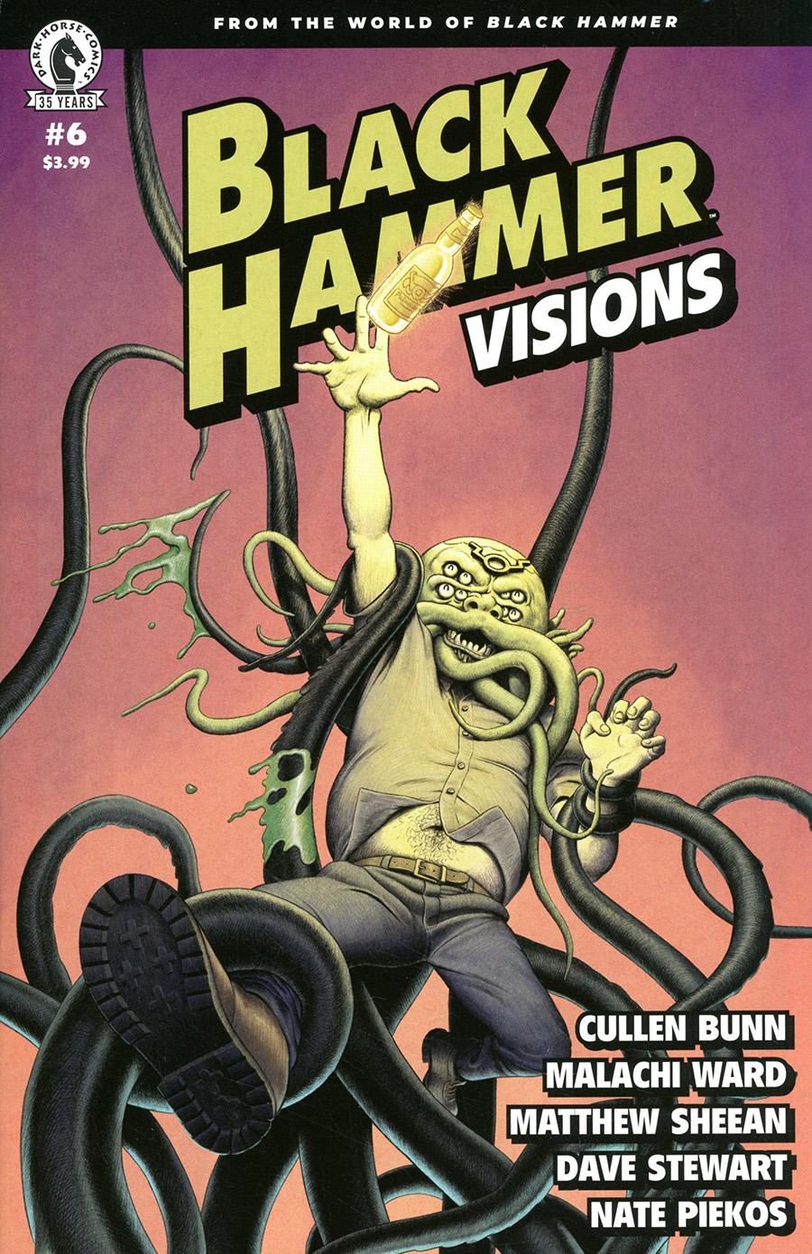 Black Hammer Visions #6 Cover A Regular Malachi Ward & Matthew Sheean Cover