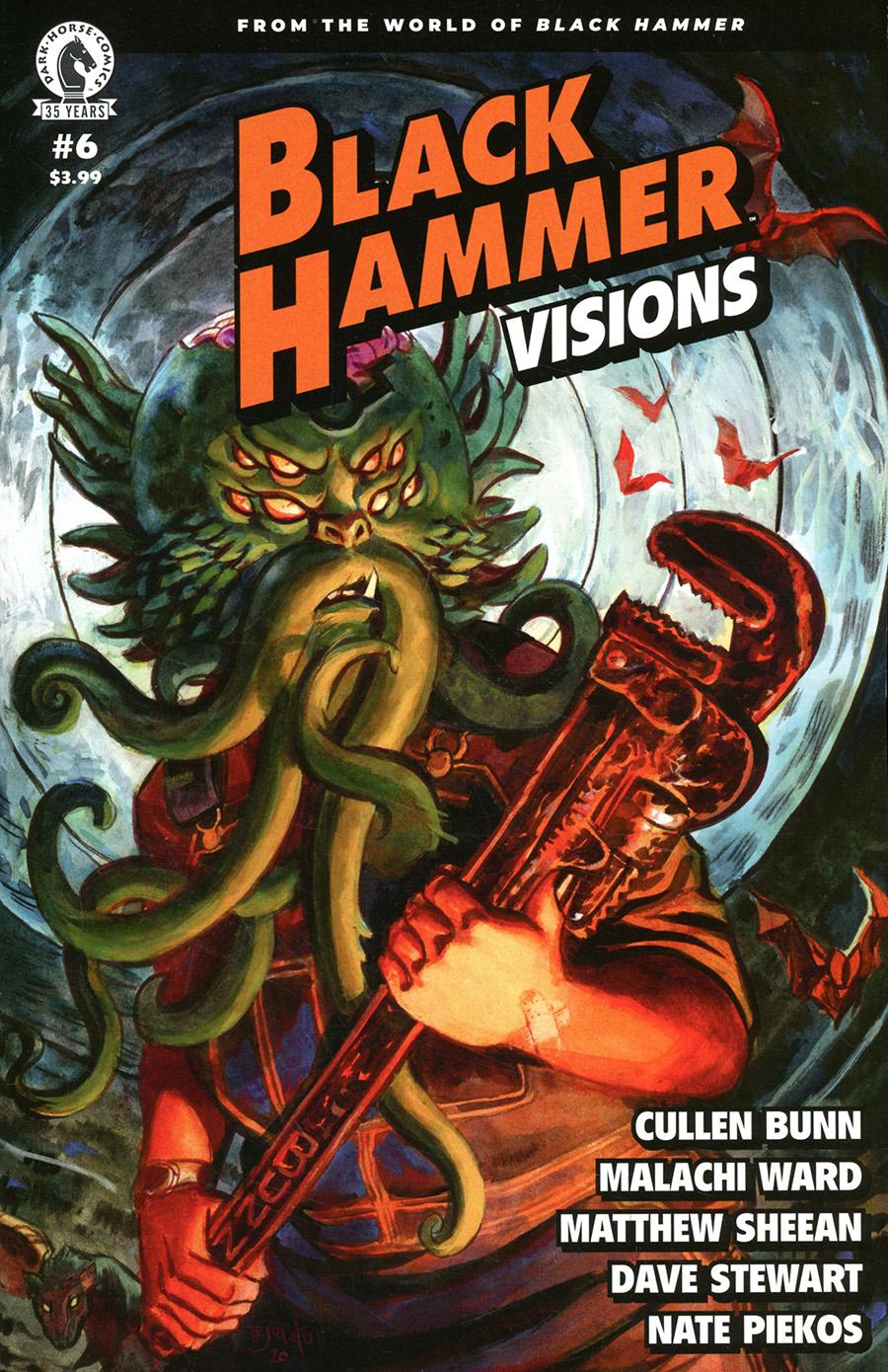 Black Hammer Visions #6 Cover B Variant Dan Brereton Cover