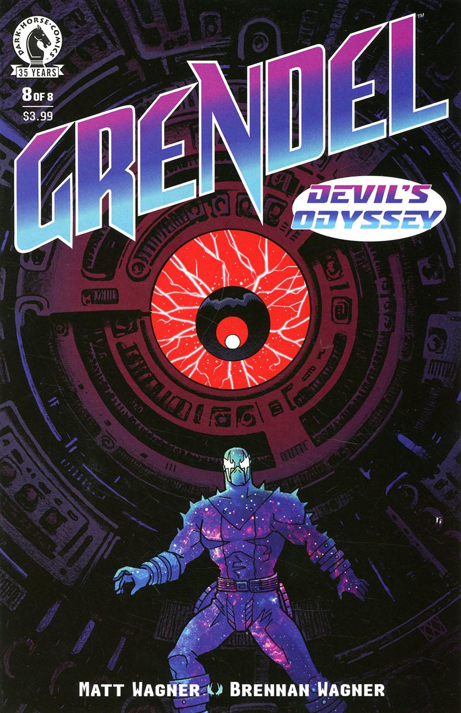 Grendel Devils Odyssey #8 Cover A Regular Matt Wagner Cover