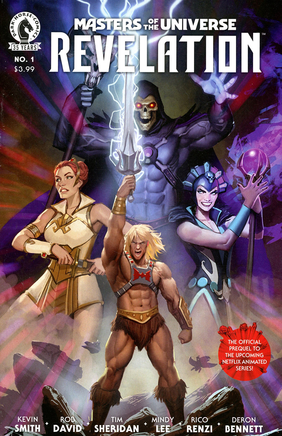 Masters Of The Universe Revelation #1 Cover A Regular Stjepan Sejic Cover