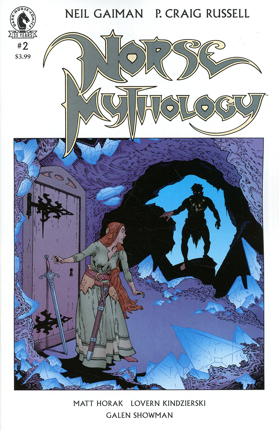 Neil Gaiman Norse Mythology II #2 Cover A Regular P Craig Russell Cover