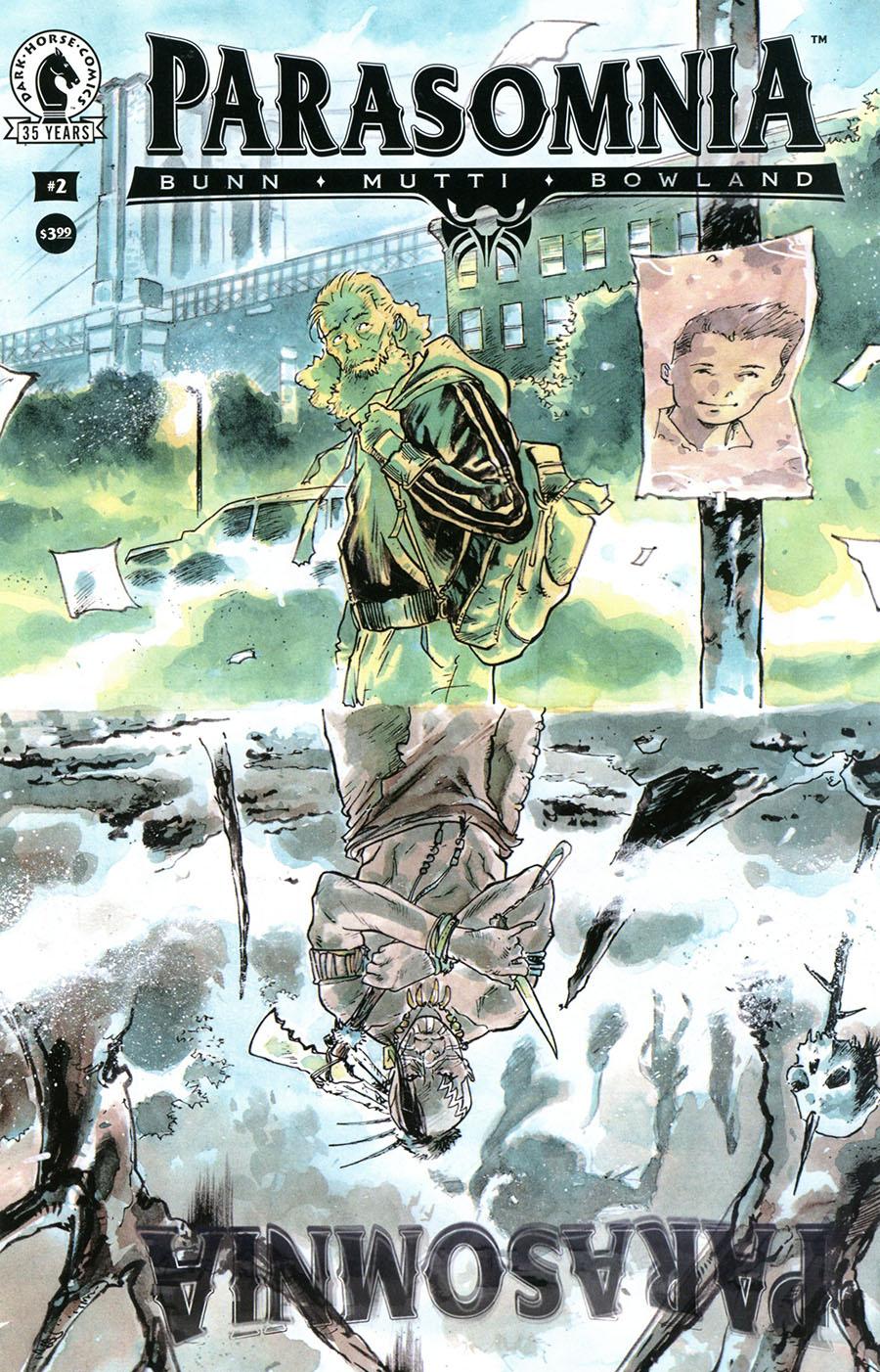 Parasomnia #2 Cover A Regular Andrea Mutti Cover