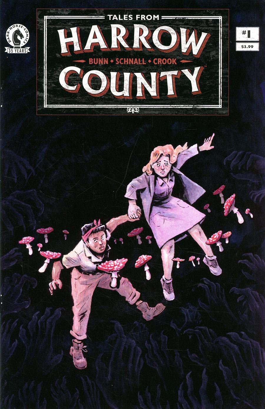 Tales From Harrow County Fair Folk #1 Cover A Regular Emily Schnall Cover