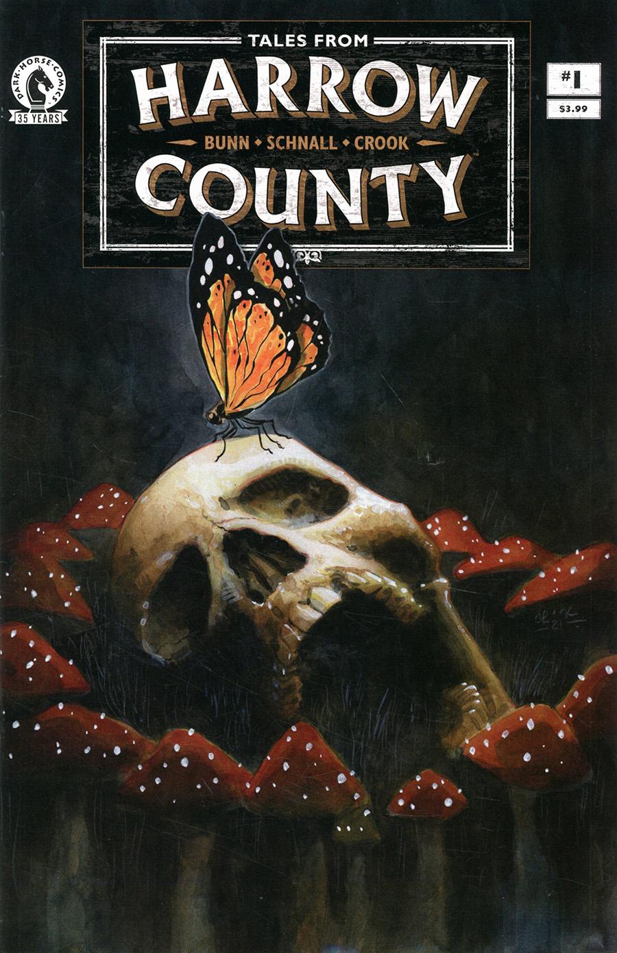 Tales From Harrow County Fair Folk #1 Cover B Variant Tyler Crook Cover