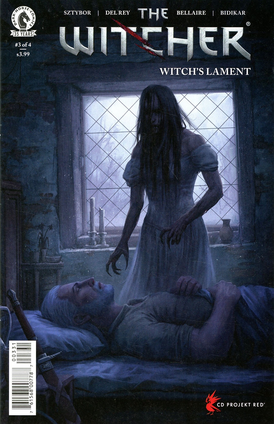 Witcher Witchs Lament #3 Cover C Variant Stefan Koidl Cover