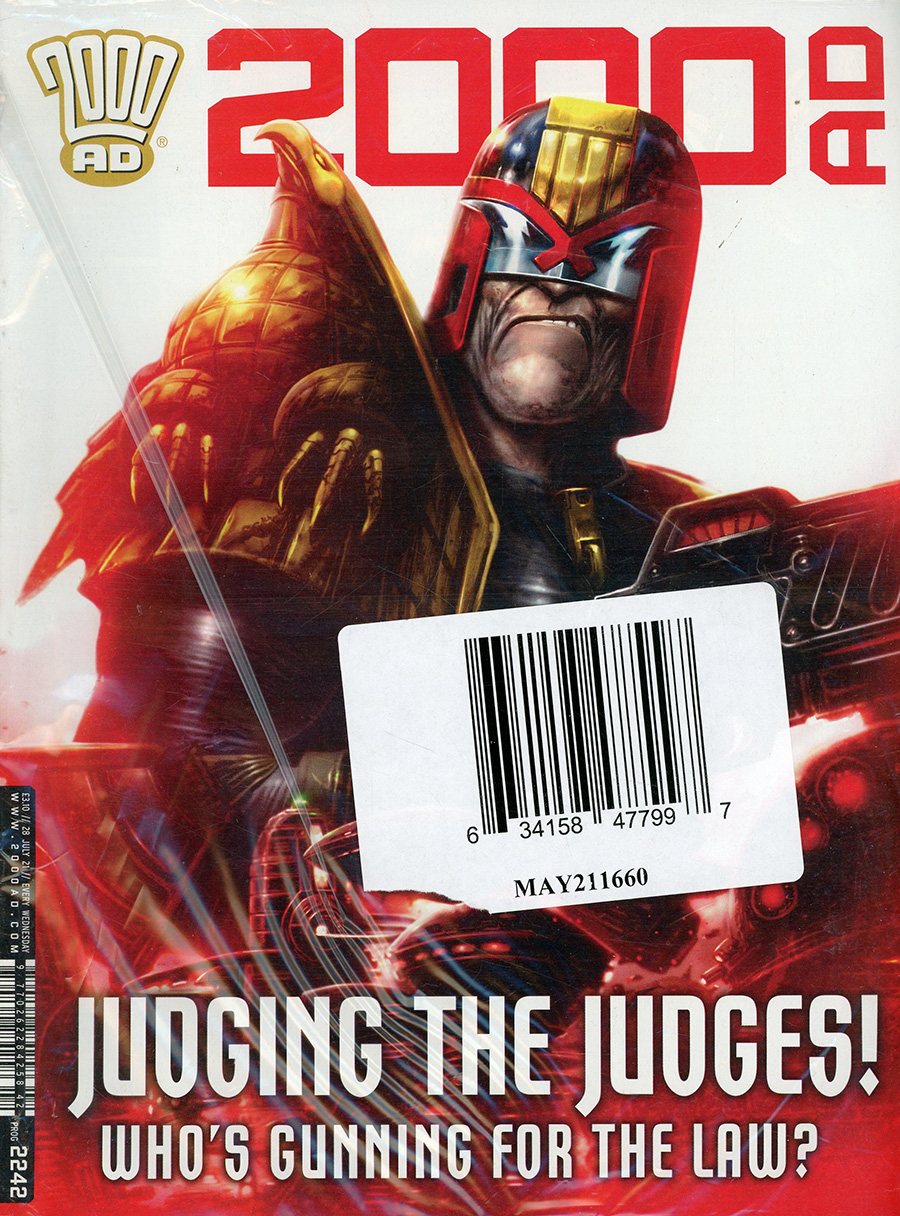 2000 AD Pack July 2021