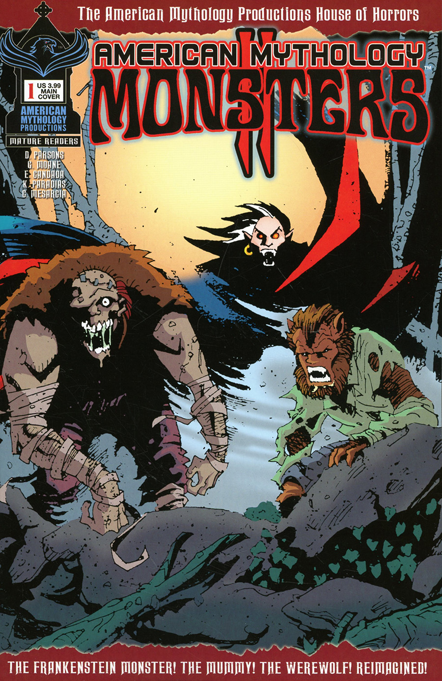 American Mythology Monsters Vol 2 #1 Cover A Regular Neil Vokes Cover