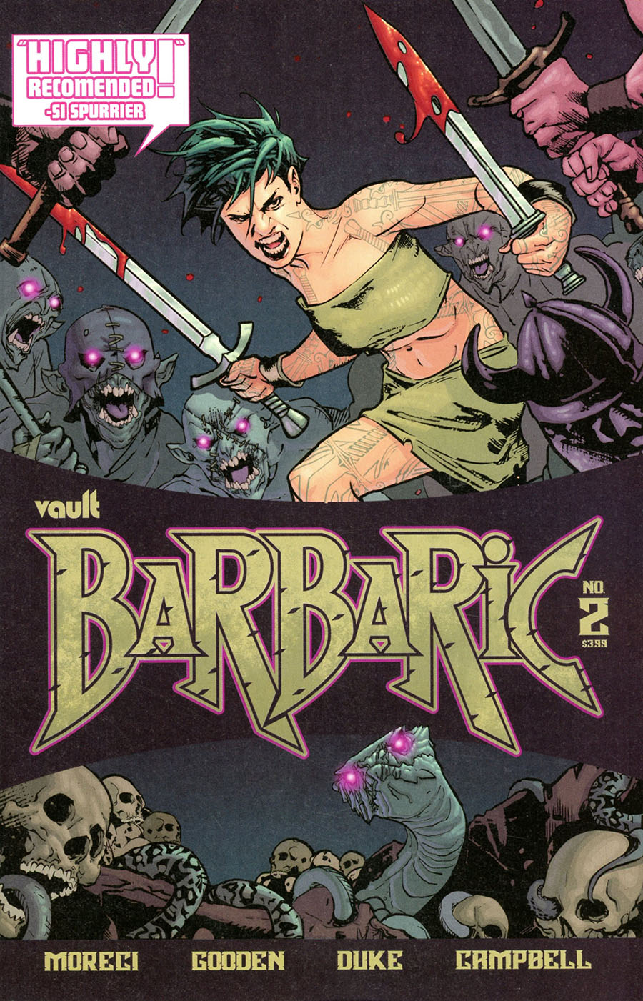 Barbaric #2 Cover A Regular Nathan Gooden Cover