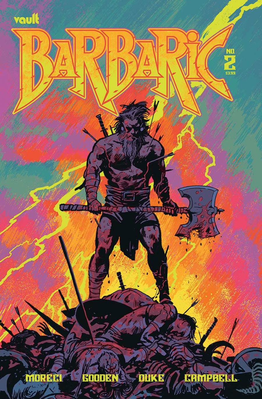 Barbaric #2 Cover B Variant Josh Hixson Cover