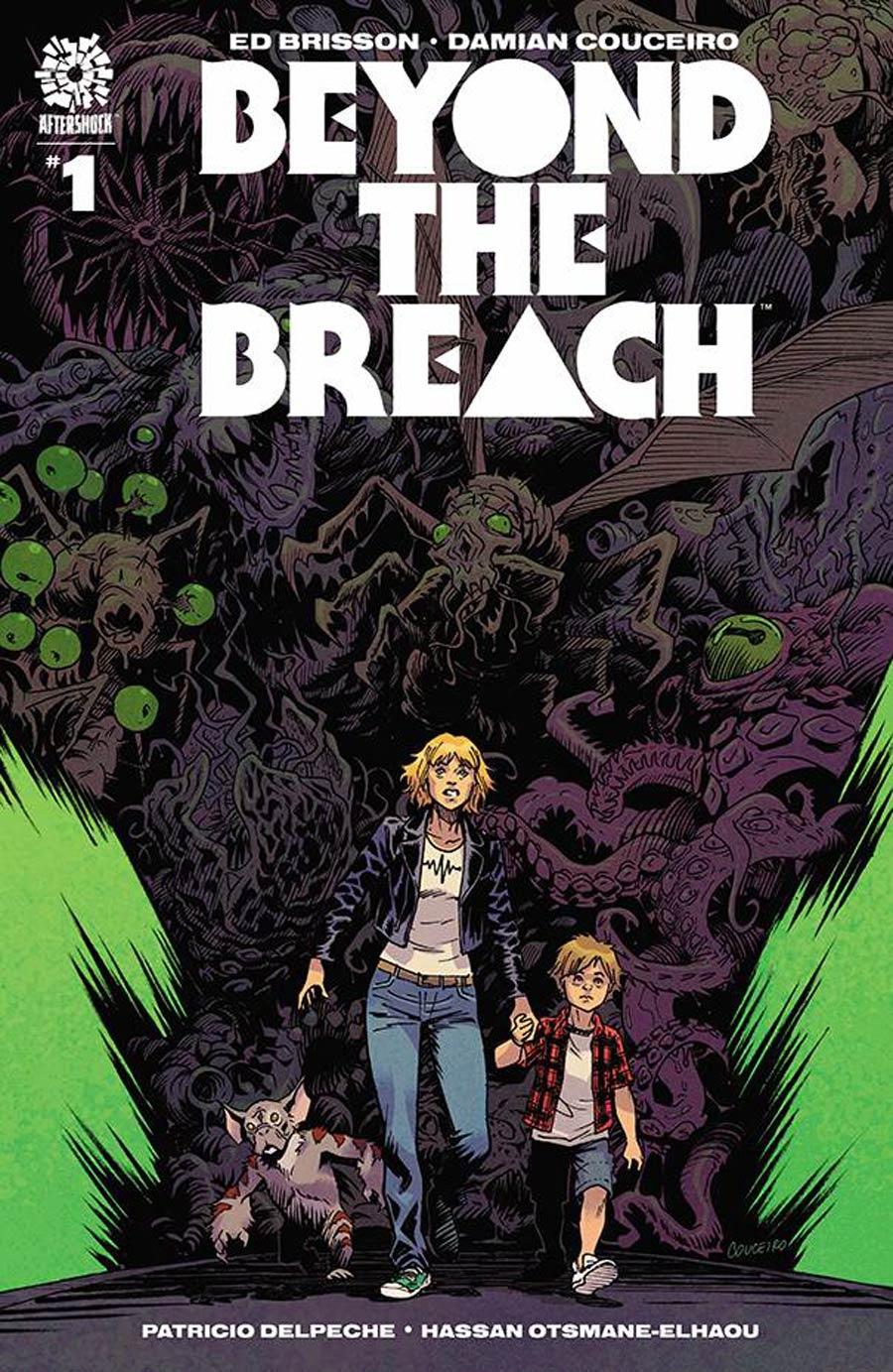 Beyond The Breach #1 Cover A Regular Damian Couceiro Cover