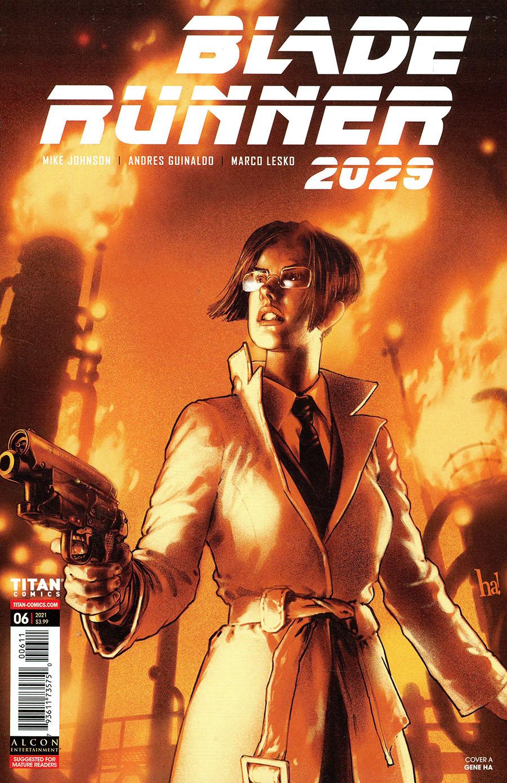 Blade Runner 2029 #6 Cover A Regular Dani Strips Cover