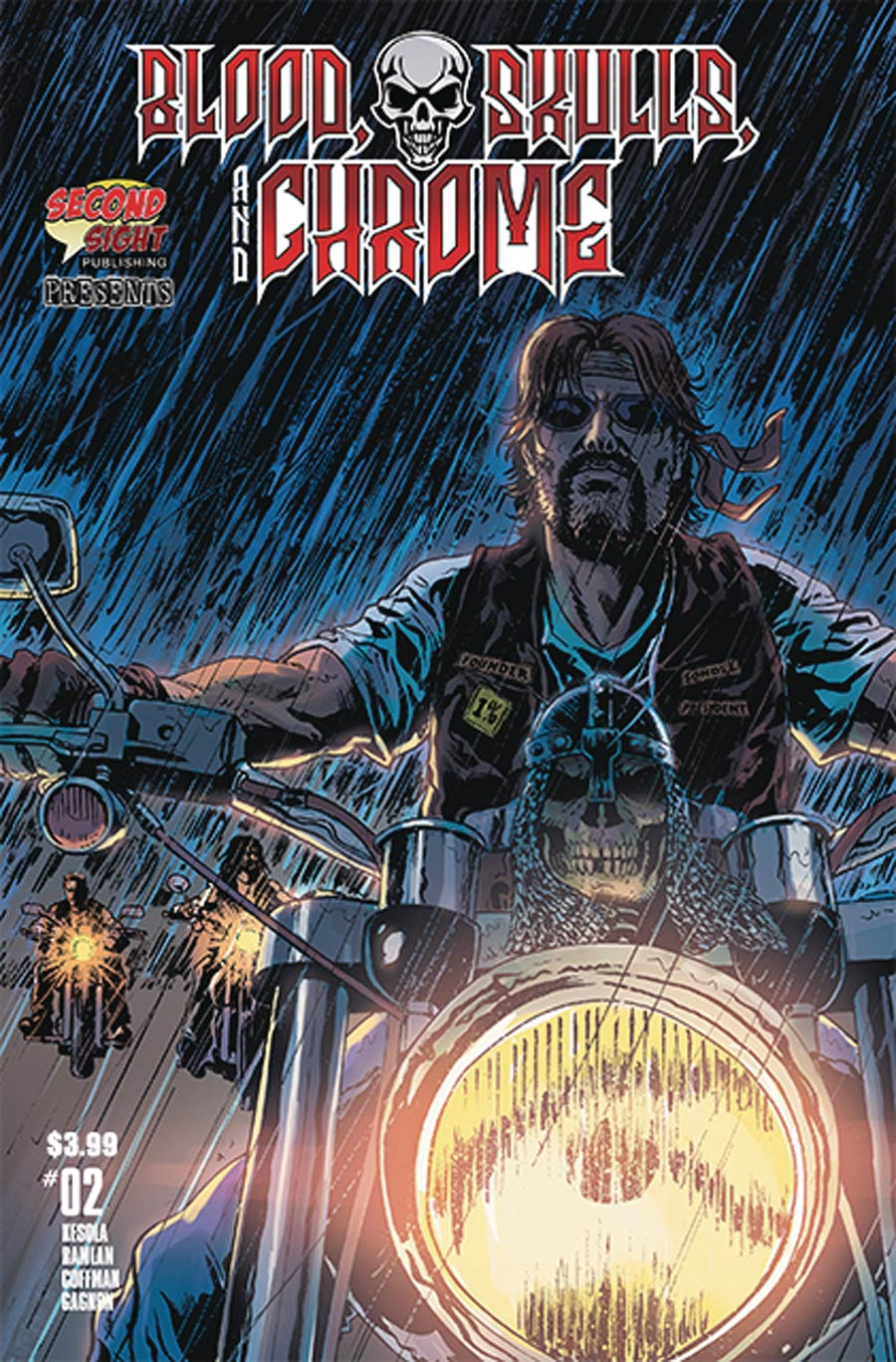 Blood Skulls And Chrome #2 Cover A Regular Miguel Ruiz Cover