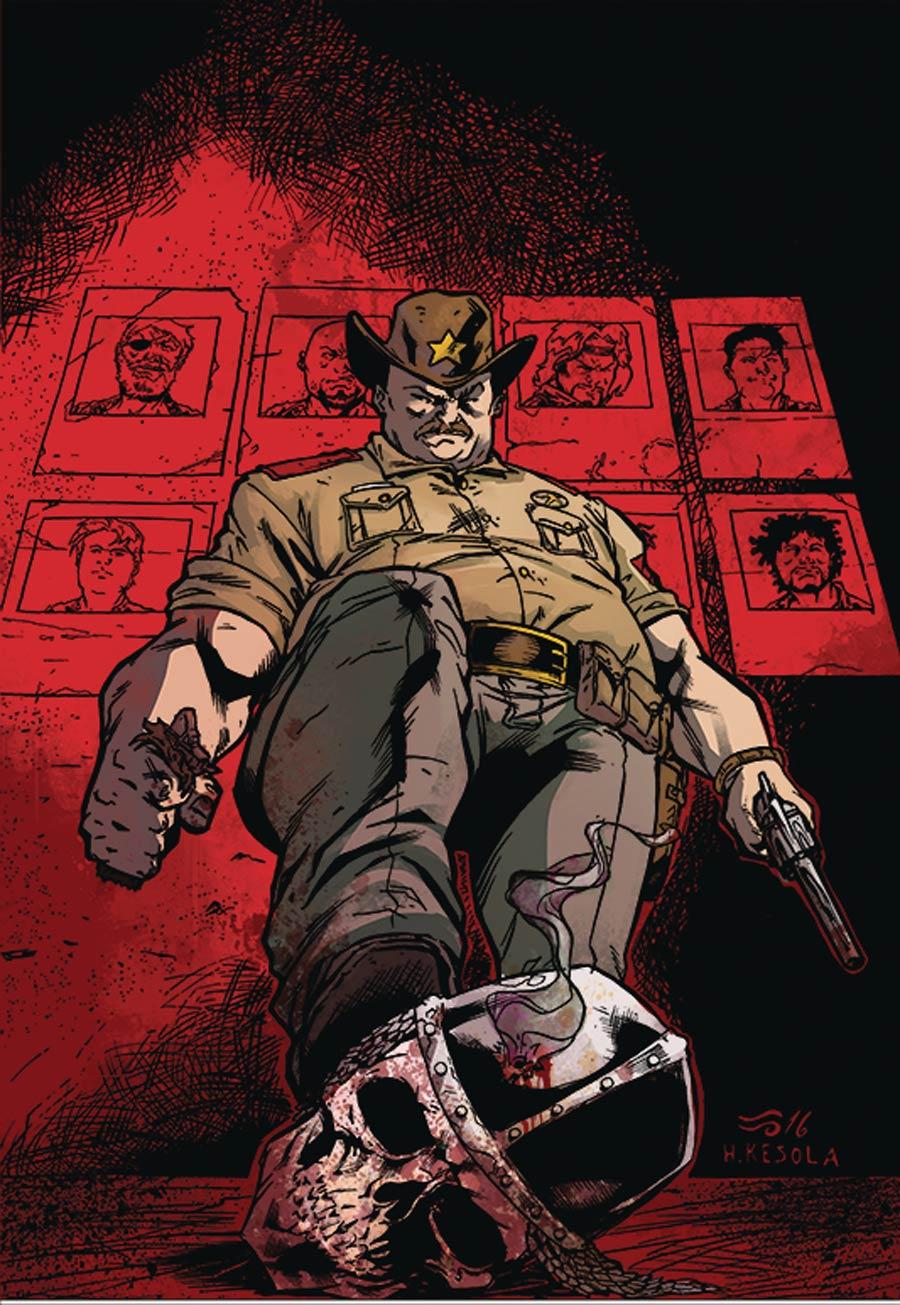 Blood Skulls And Chrome #2 Cover B Variant Sami Kivela Cover