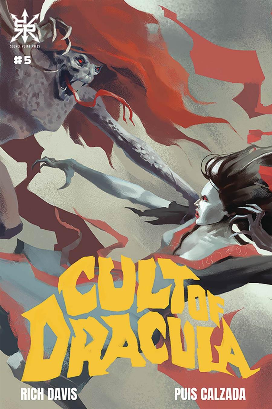 Cult Of Dracula #5 Cover A Regular Gyula Nemeth Cover