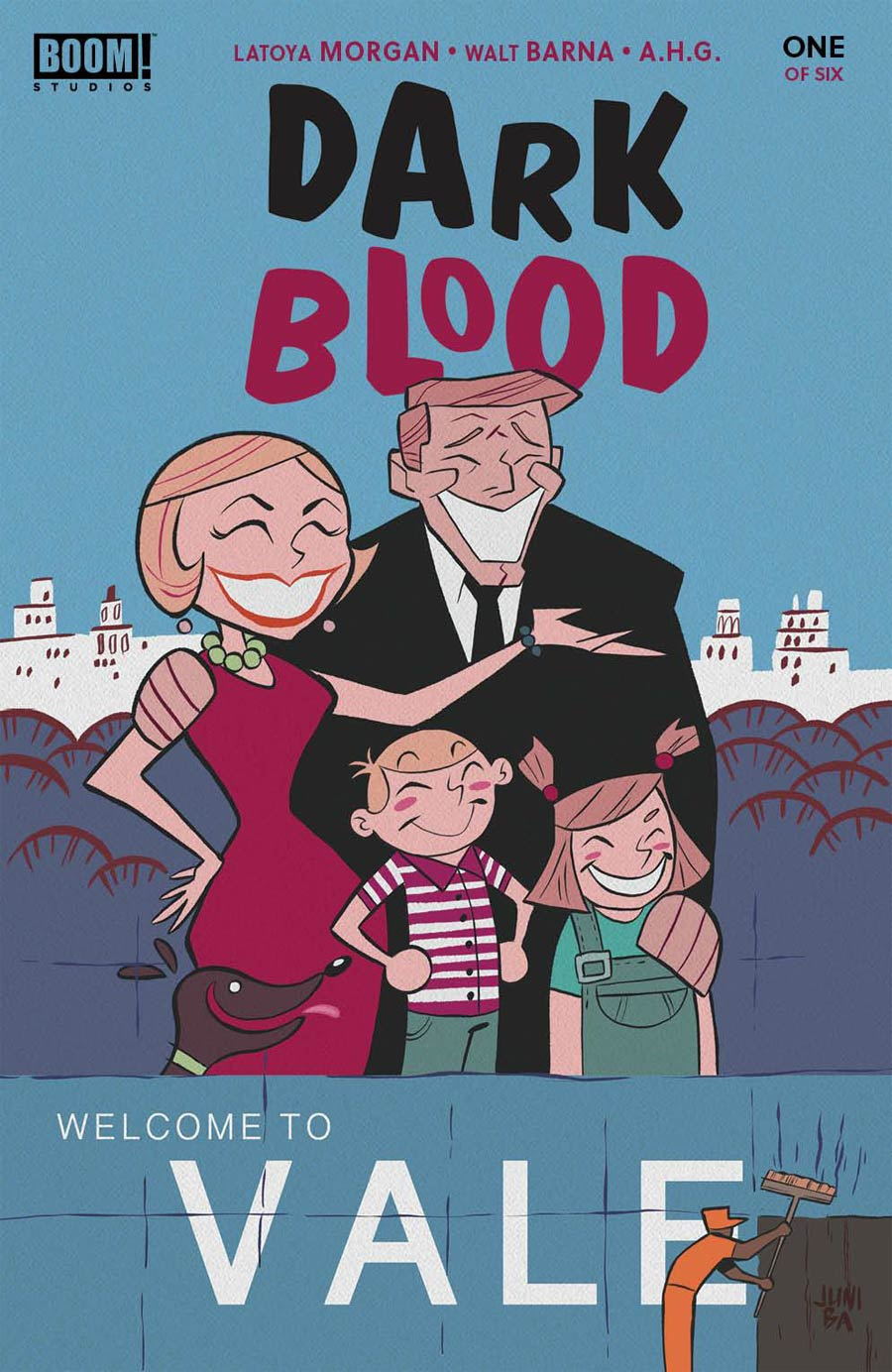 Dark Blood #1 Cover B Variant Juni Ba Cover
