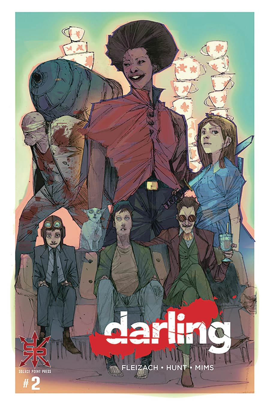 Darling #2 Cover A Regular Dave Mims Cover