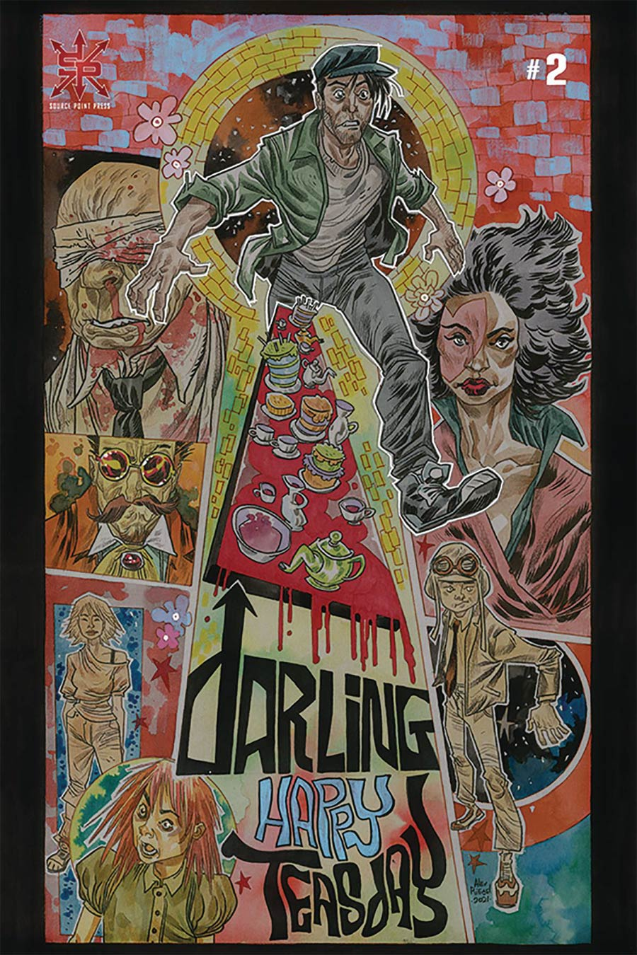 Darling #2 Cover B Variant Alex Riegel Cover