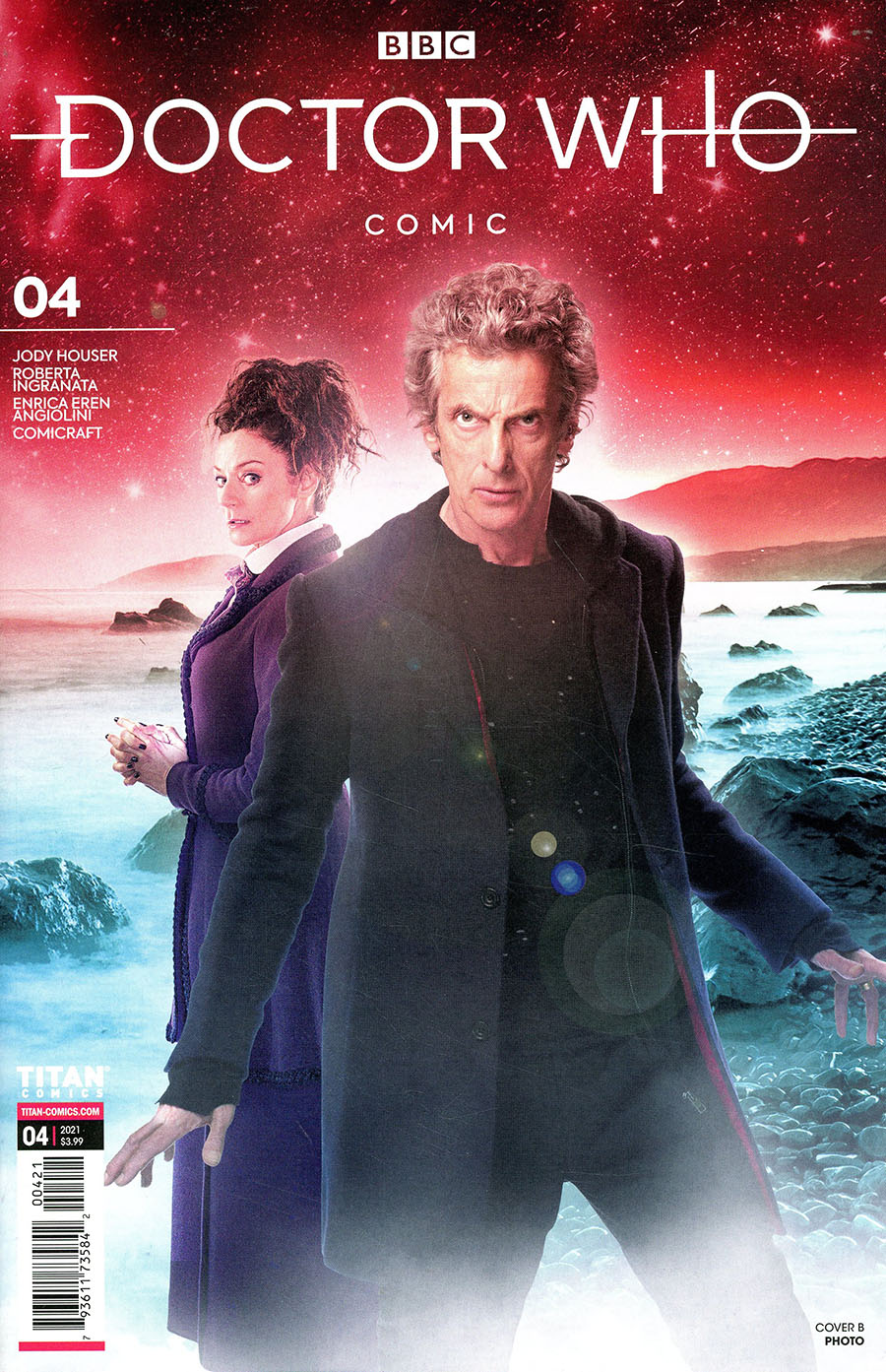 Doctor Who Missy #4 Cover B Variant Photo Cover