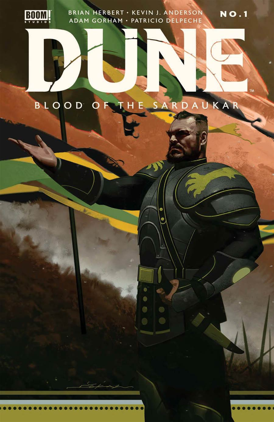 Dune Blood Of The Sardaukar #1 (One Shot) Cover A Regular Jeff Dekal Cover