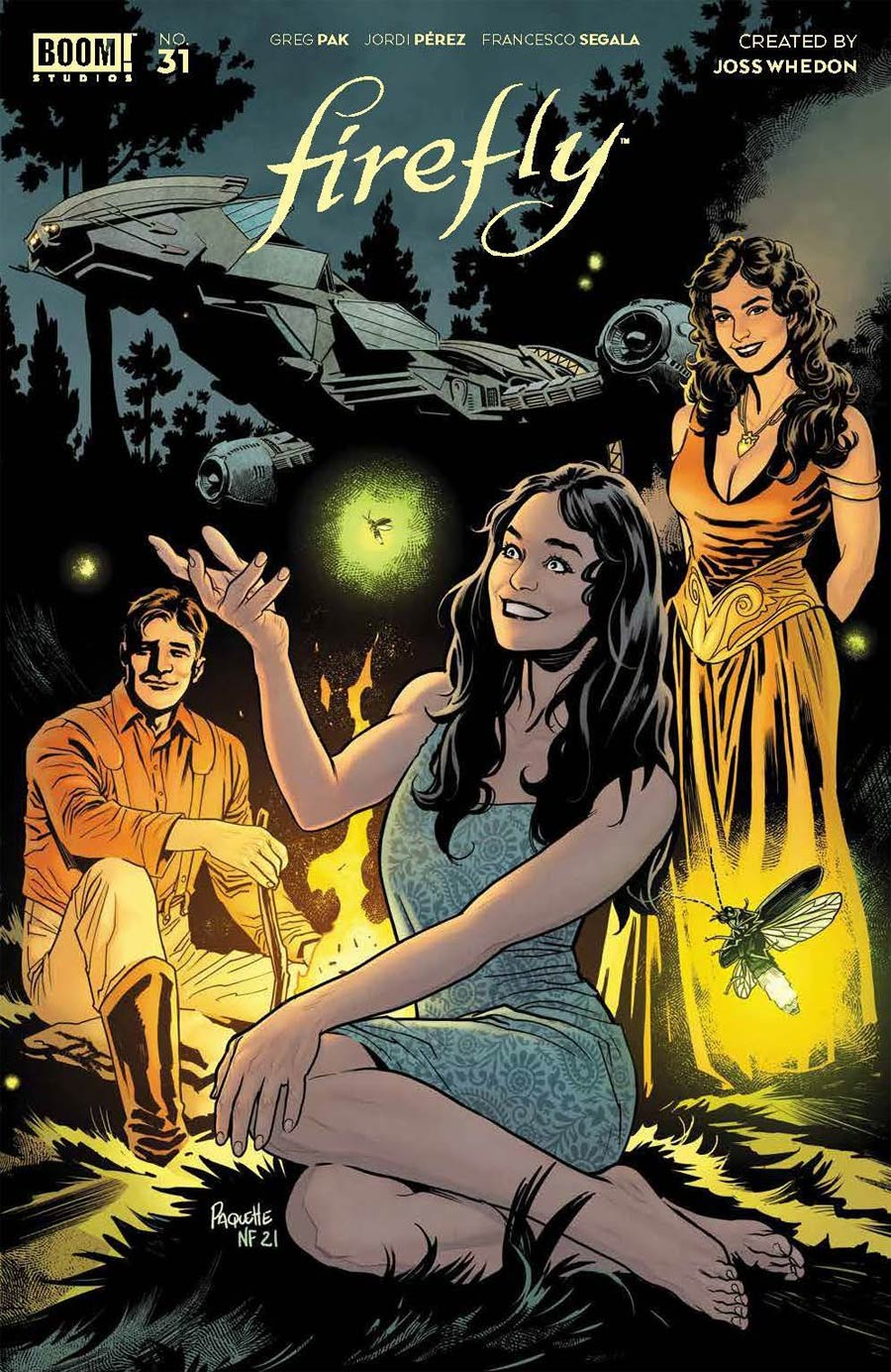 Firefly #31 Cover B Variant Yanick Paquette Cover
