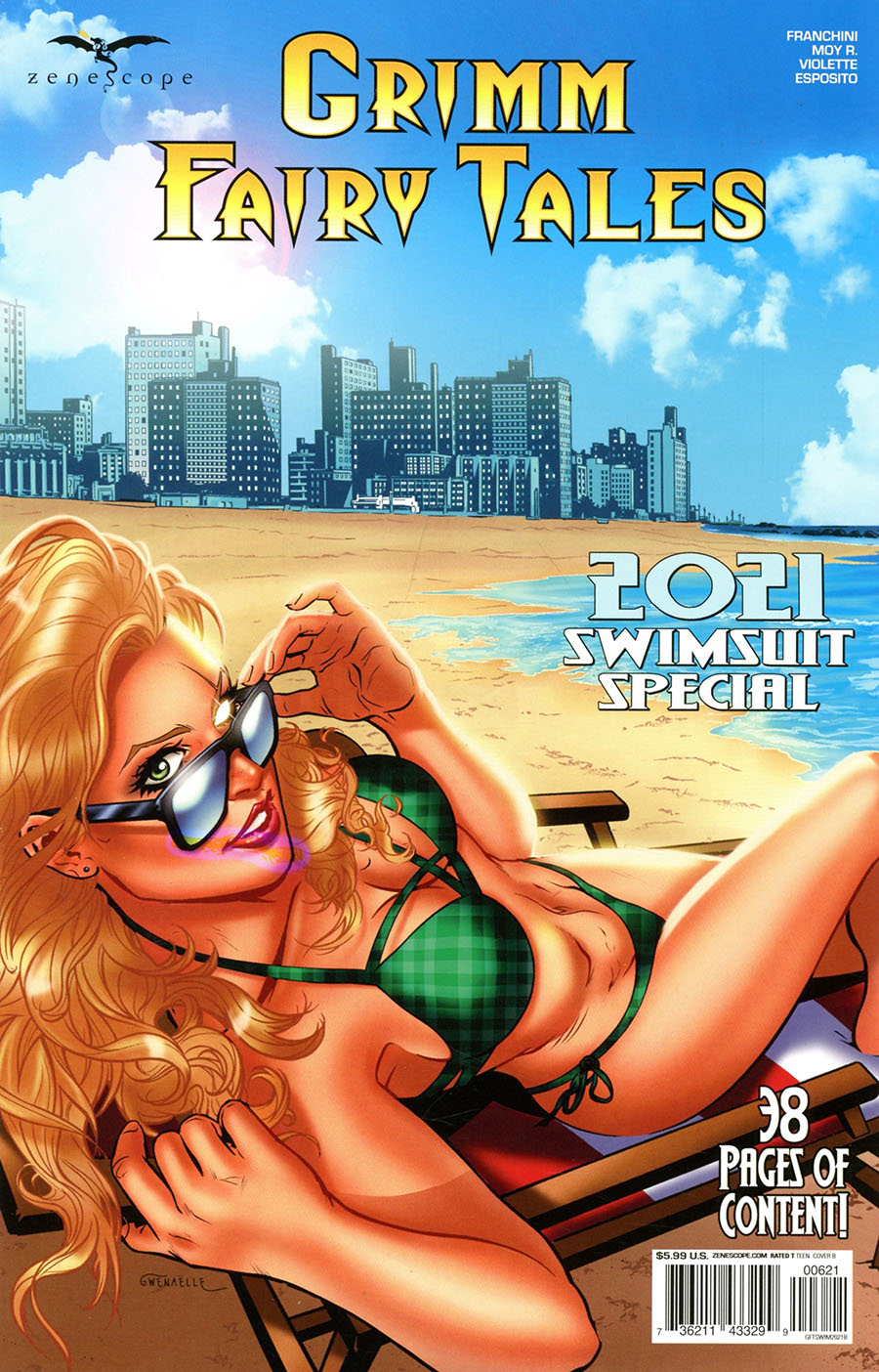Grimm Fairy Tales Presents Swimsuit Special 2021 #1 (One Shot) Cover B Riveiro