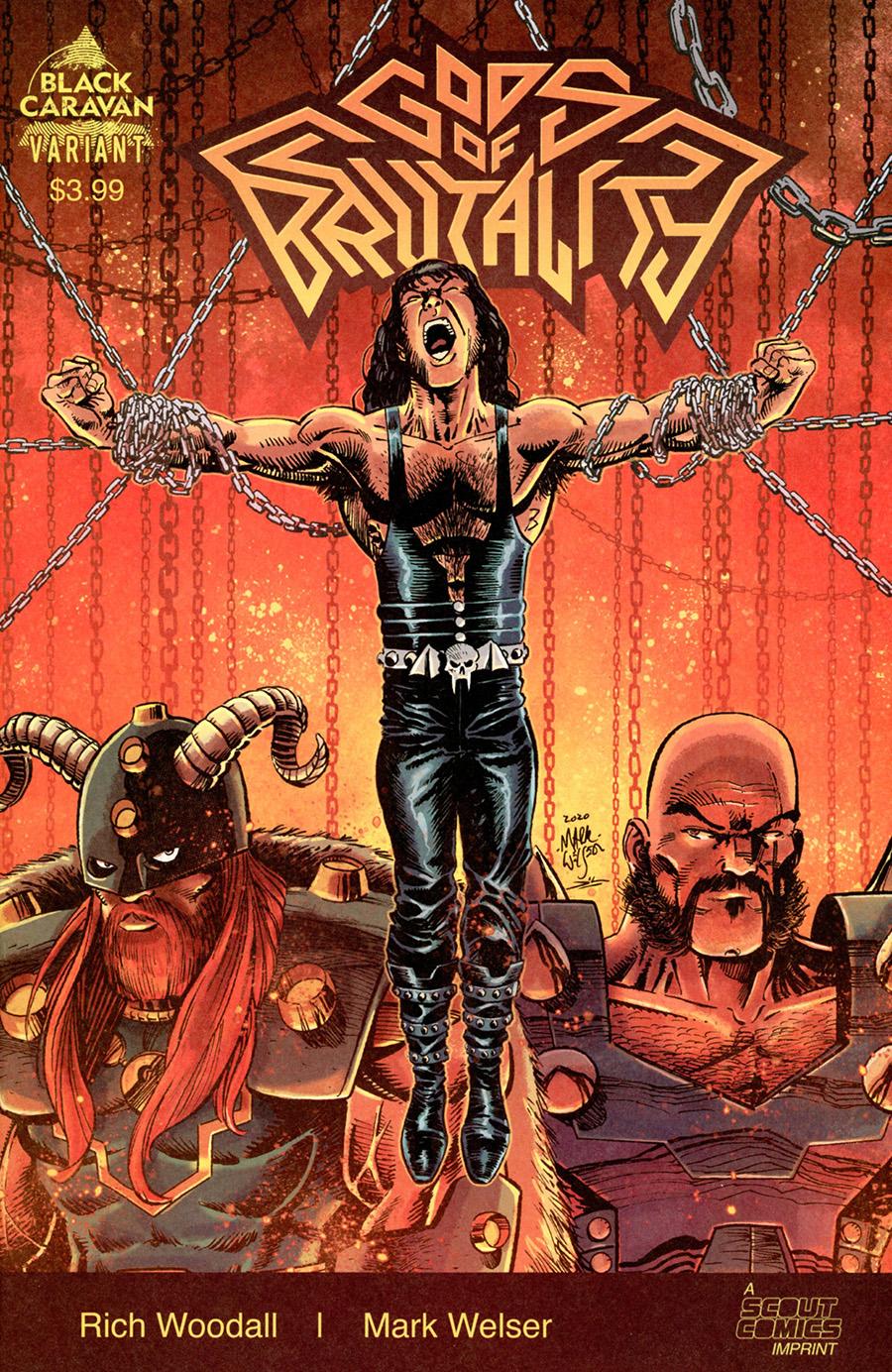 Gods Of Brutality #1 Cover B Variant Mark Welser Cover
