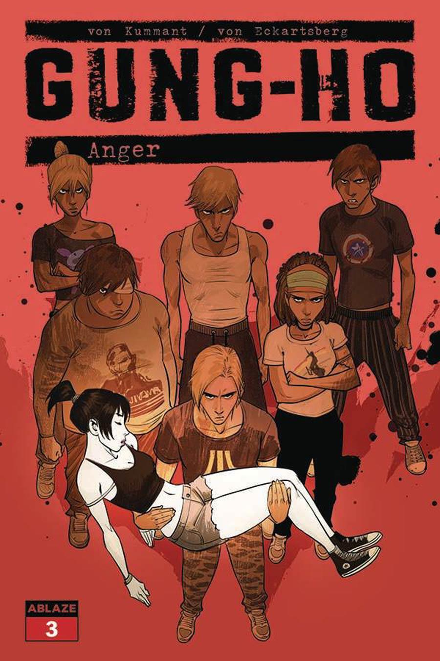 Gung-Ho Anger #3 Cover A Regular Miki Montllo Cover