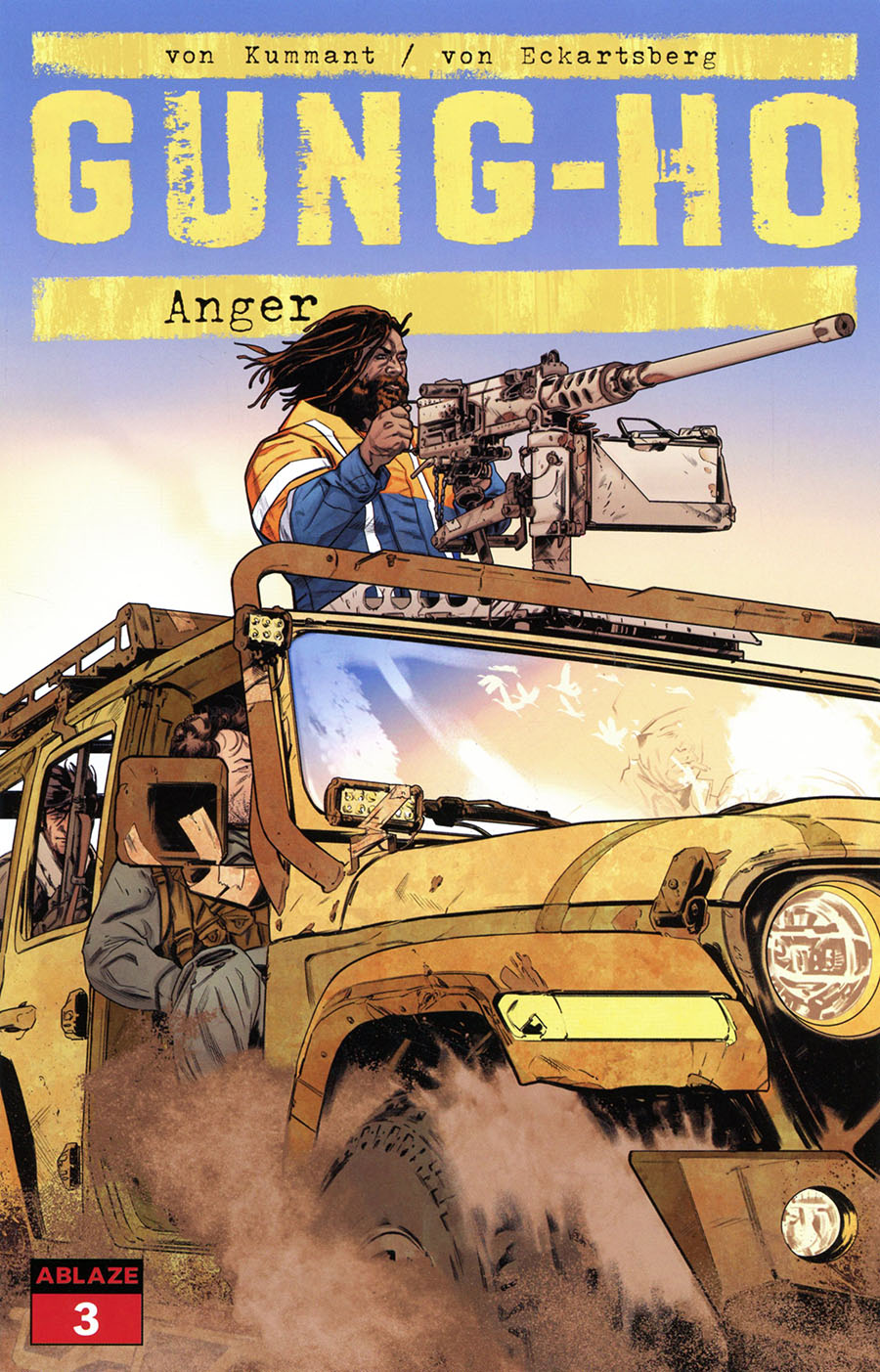 Gung-Ho Anger #3 Cover B Variant Cian Tormey Cover