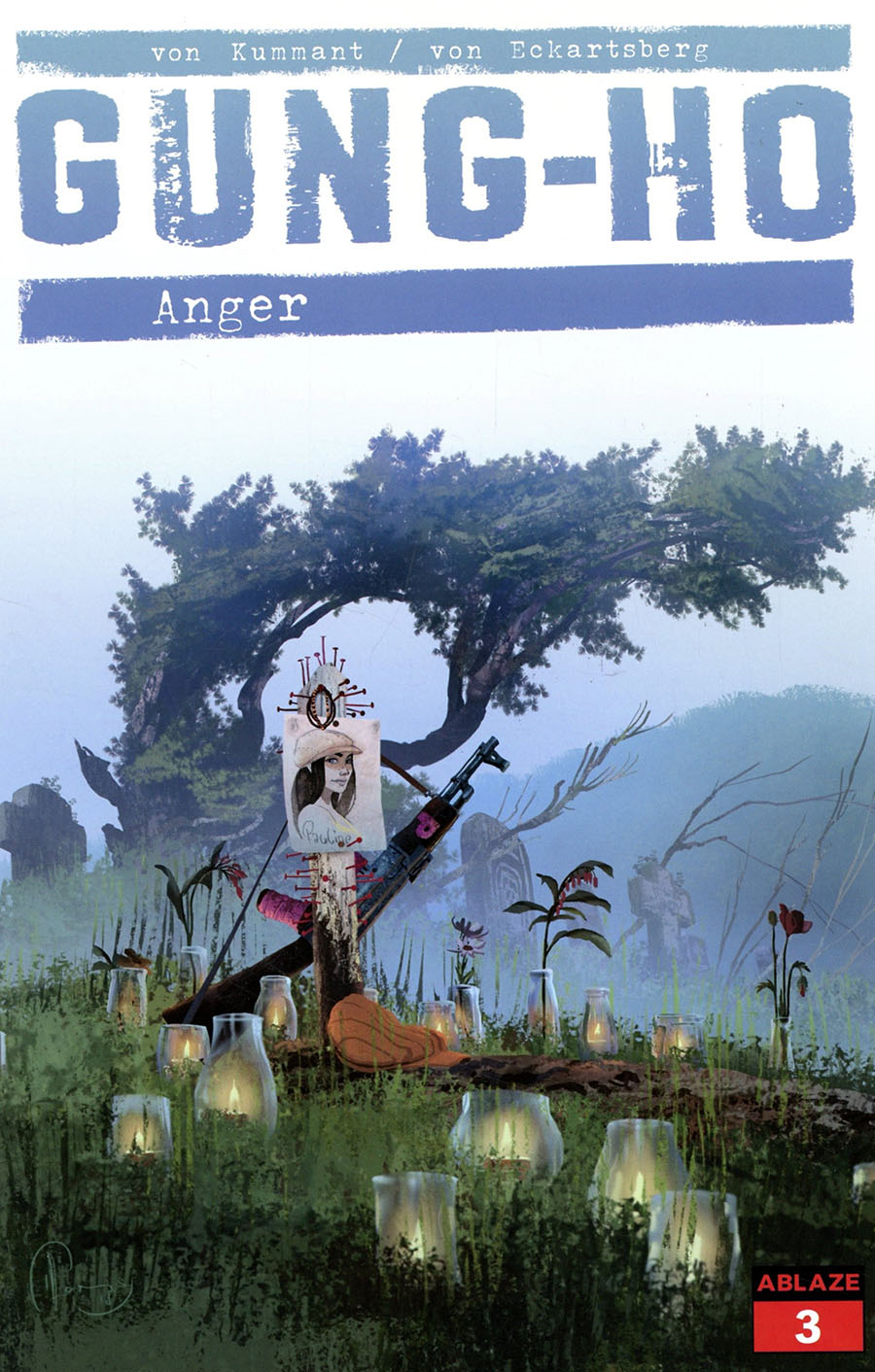 Gung-Ho Anger #3 Cover D Variant Thomas von Kummant Cover