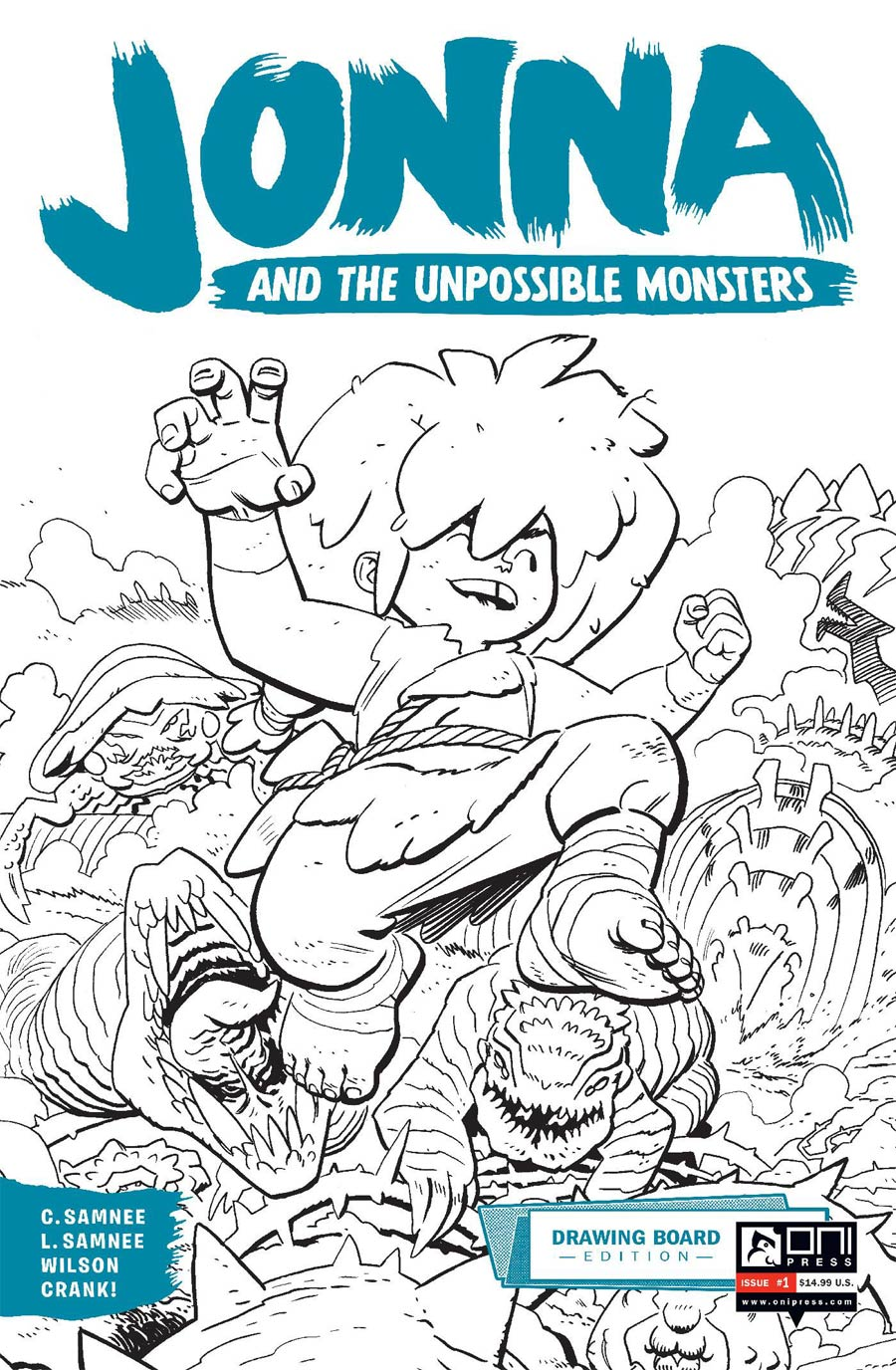 Jonna And The Unpossible Monsters Drawing Board Edition #1