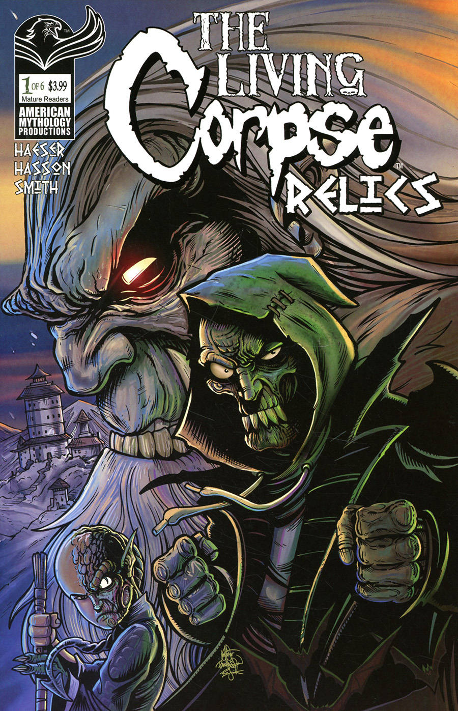 Living Corpse Relics #1 Cover A Encore Edition