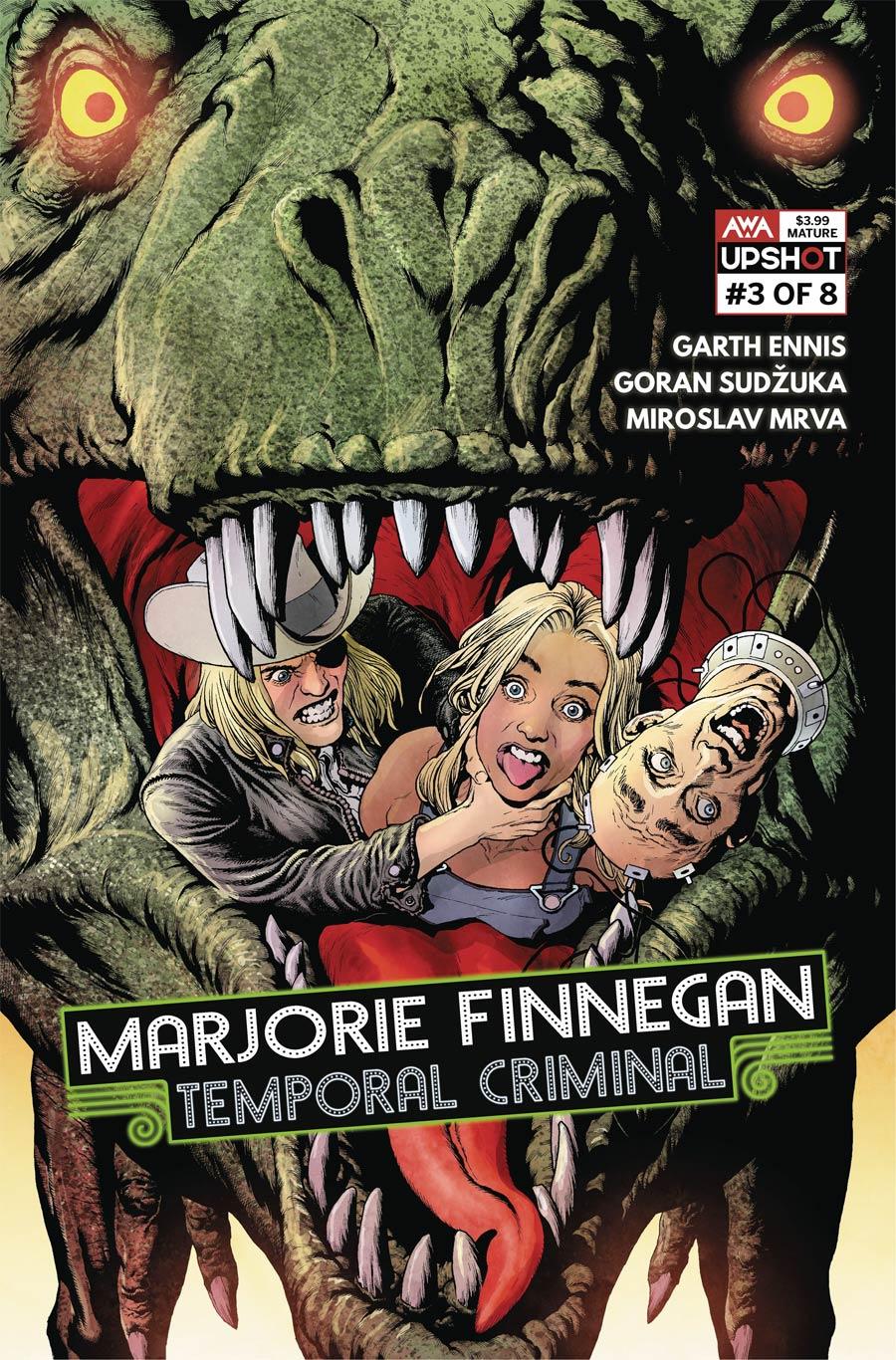 Marjorie Finnegan Temporal Criminal #3 Cover A Regular Andy Clarke Cover