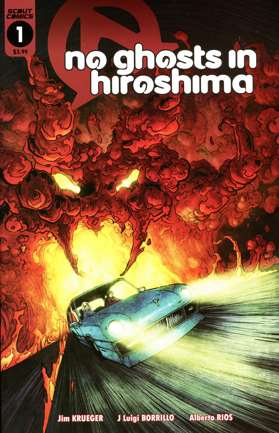 No Ghosts In Hiroshima #1 Cover A Regular Zach Brunner Cover