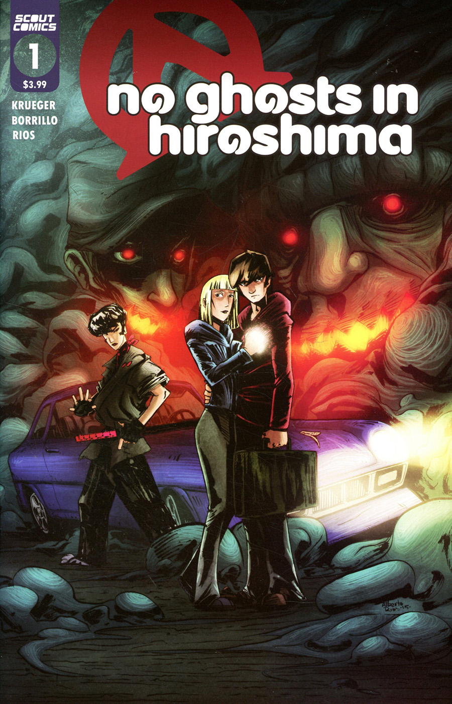 No Ghosts In Hiroshima #1 Cover B Variant Alberto Rios Cover