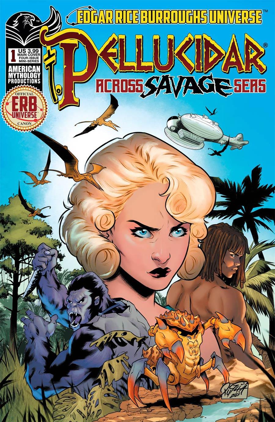 Pellucidar Across Savage Seas #1 Cover A Regular Miriana Puglia Cover
