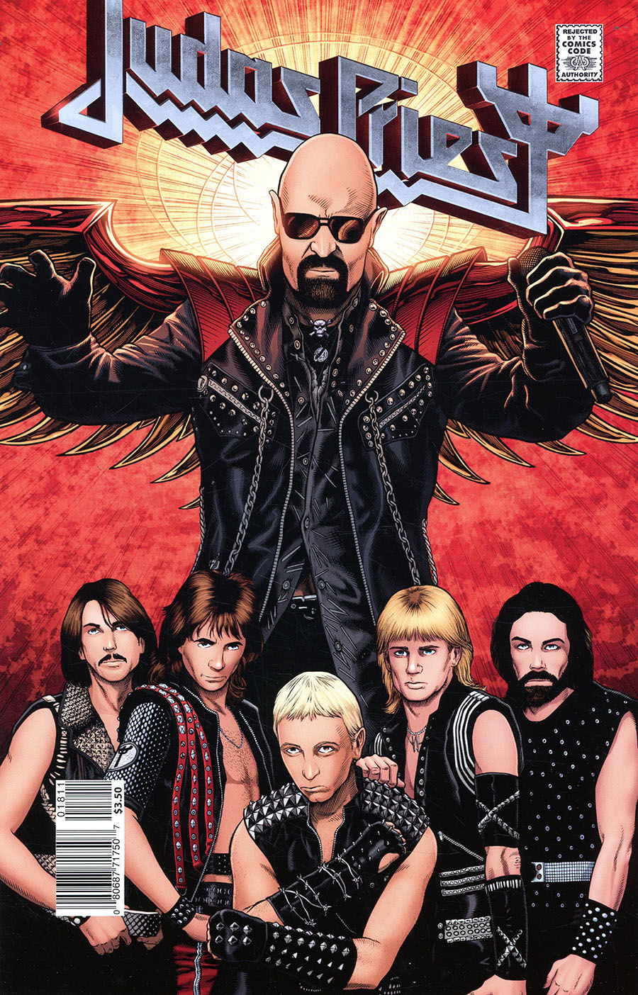 Rock & Roll Biographies Judas Priest #1 (One Shot) Cover A Regular Victor Moya Cover