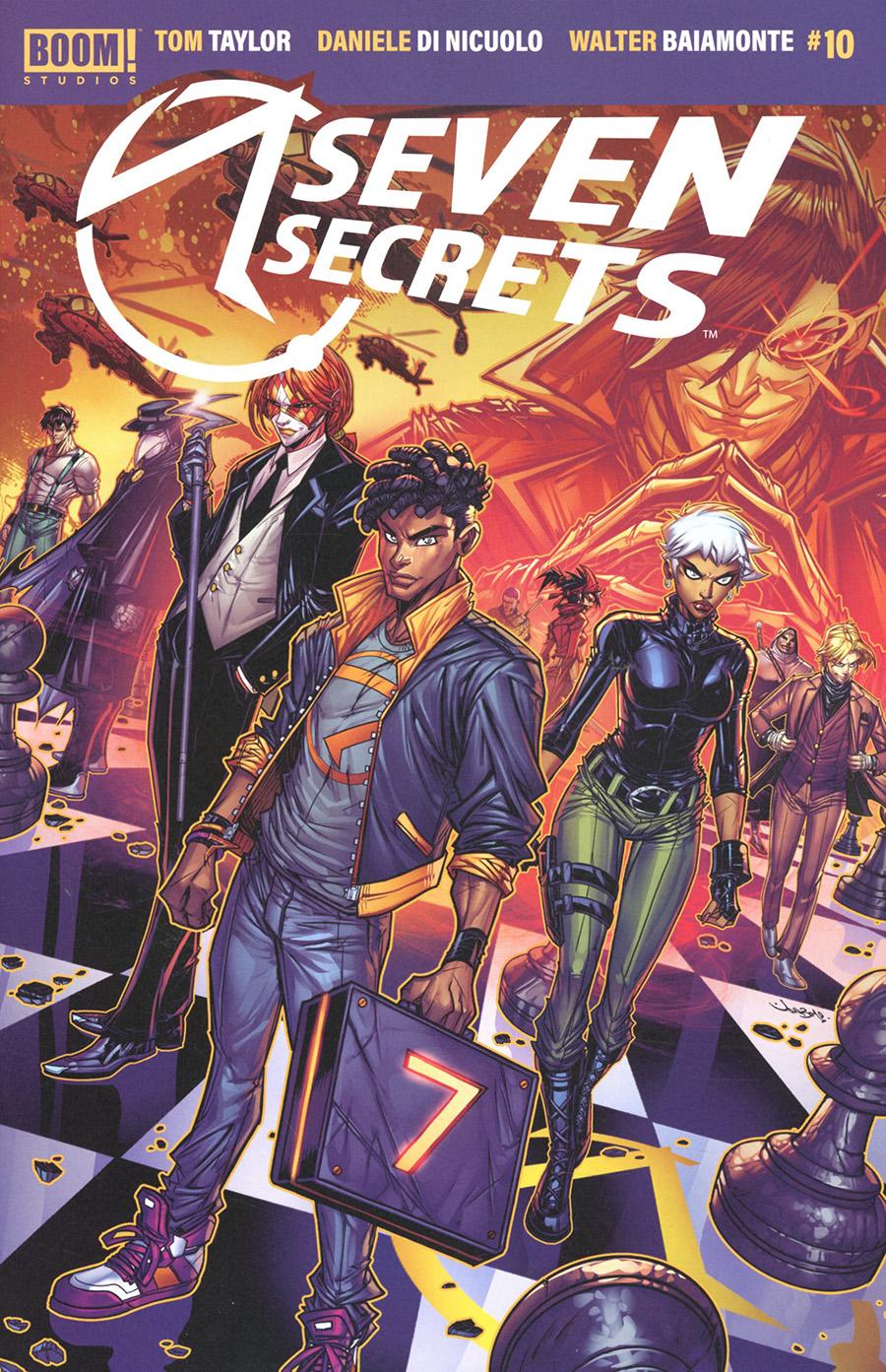 Seven Secrets #10 Cover B Variant Jonboy Meyers Cover