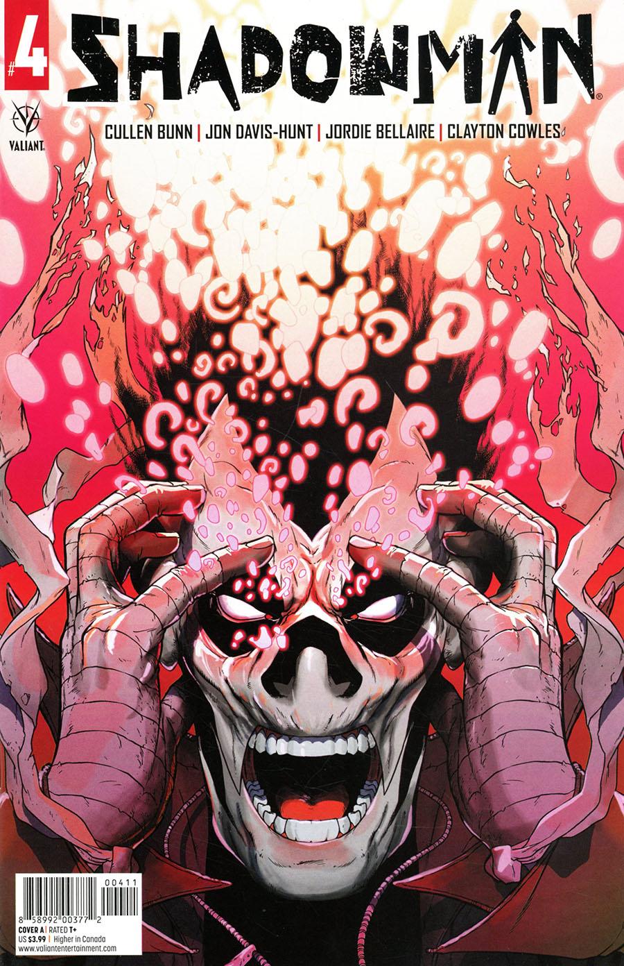 Shadowman Vol 6 #4 Cover A Regular Jon Davis-Hunt Cover