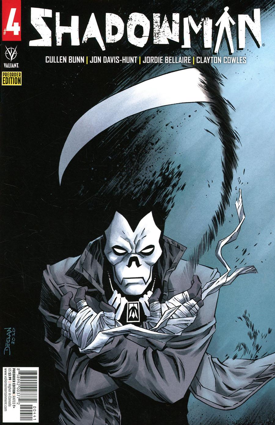 Shadowman Vol 6 #4 Cover D Variant Declan Shalvey Pre-Order Edition